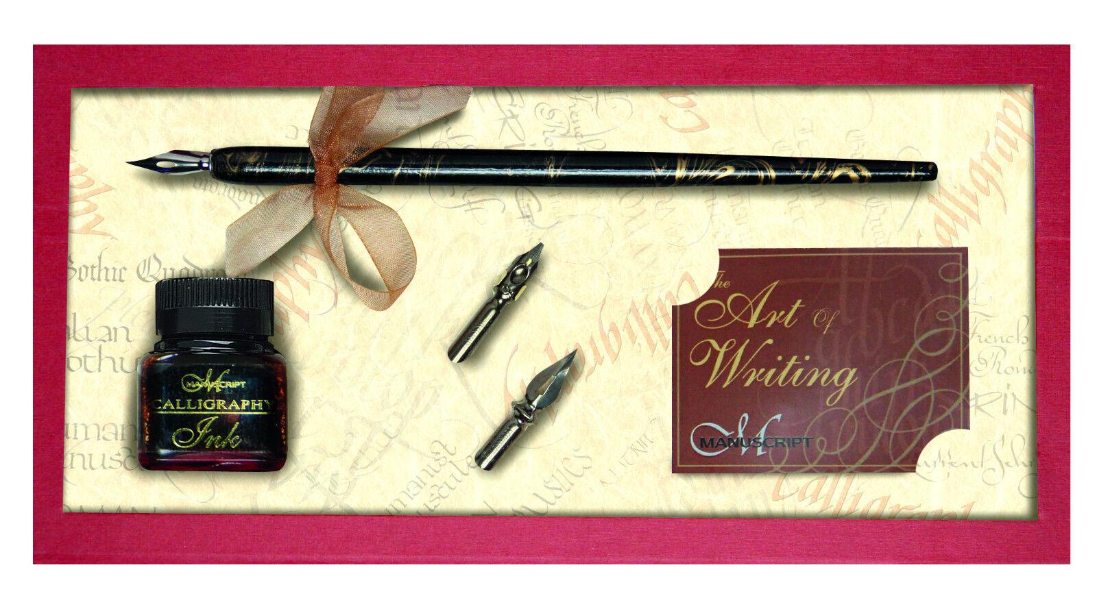 Manuscript Deluxe Dip Pen Calligraphy Writing Gift Set
