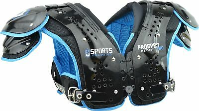 Sports Unlimited Prospect Pro Adult Football Shoulder Pads, New Adult Football Shoulder Pads