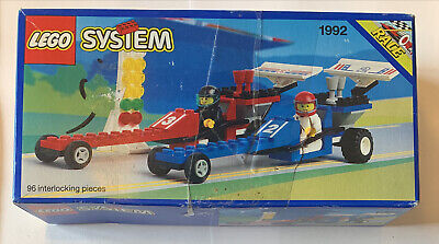 Lego set# 1992 Race Dragsters - New SEALED rare - 1993 DAMAGED BOX