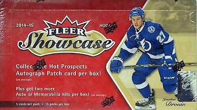 2014-15 Upper Deck Fleer Showcase Hockey Sealed Hobby Box