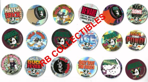 The Mighty Ducks - Del Taco - Set of  18 Different Pogs/Caps - 1994 - New