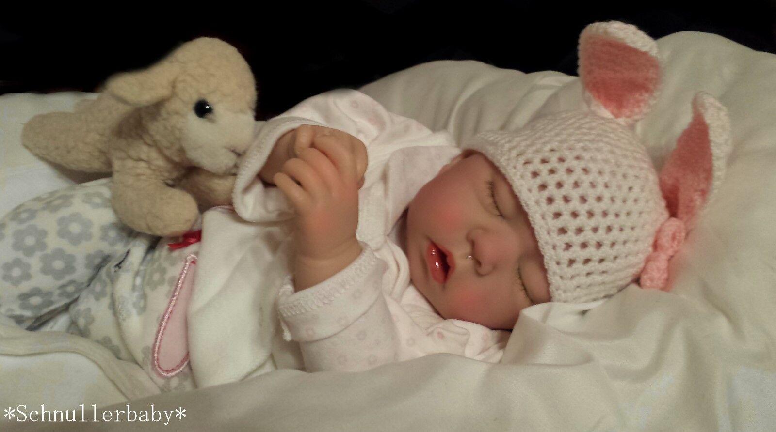 🐰✨Reborn Reallife Baby BS v.U.L Krautter Baby Babypuppe Hase Oster Geschenk🐰✨