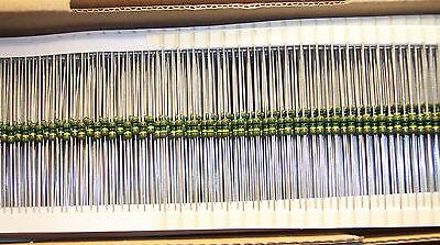 Qty 100 1 Meg Ohm 1 Precision Metal Film Resistor Sma0207-50-1m0-1 Vishay
