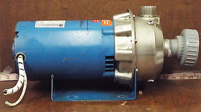 1 Used Goulds 2st1g2d3 1-14x1-12-6 Centrifugal Pump Make Offer