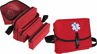 Medical Field Kit Bag (Red EMS Star of Life Medical Field Kit Bag )