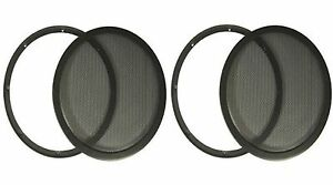 PAIR-10-Heavy-Duty-High-Excursion-Subwoofer-Speaker-Classic-Grill-Grills-Cover