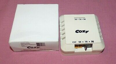 thermostat switch 120°C 10//6 A-250 V ~ AC Typ T 177 Thermostatschalter