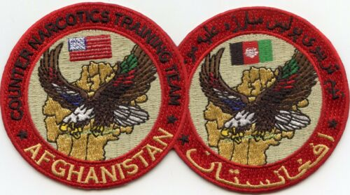 AFGHANISTAN COUNTER NARCOTICS TRAINING TEAM POLICE PATCH