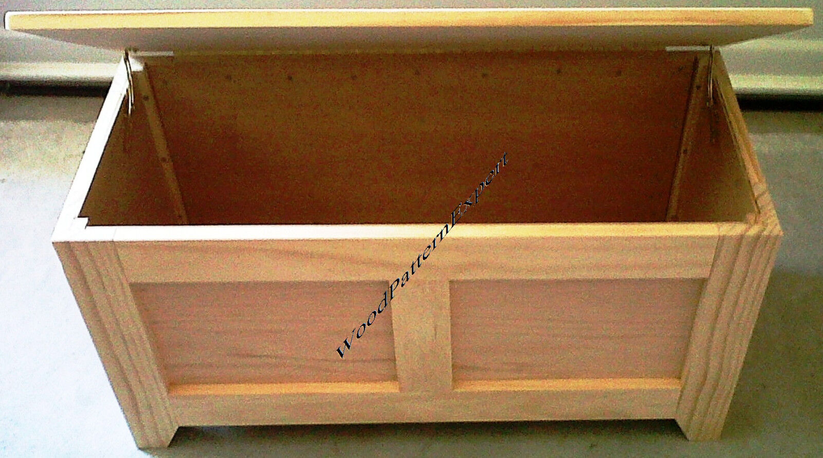 Build your own toy chest bench quick woodworking projects Build your own toy chest