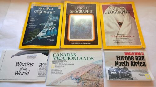 3 National Geographic~Whales Dec 1976~Holographic Man Nov 1985~Dec 1991 WWII