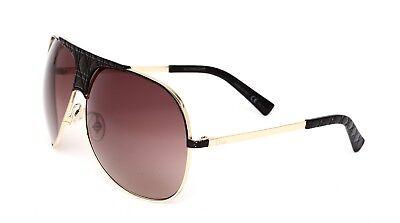 ff3a7886a91a Christian Dior VN0D8 Myladydior8 Women's Black Gold Sunglasses 0306