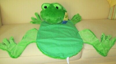 """FROG HUG RUG MY NAME IS HOPPY RESTORE & RESTYLE KIDS LARGE RUG ABOUT 38"""" LONG"""