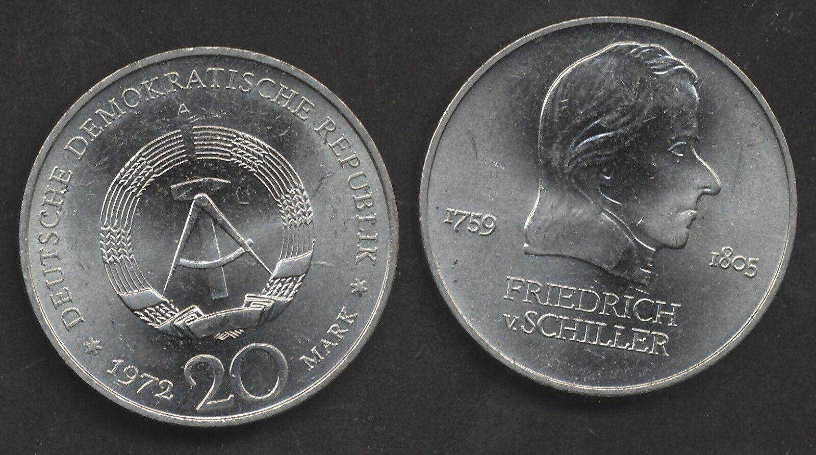 Angebot DDR 10, 20 Mark Münzen
