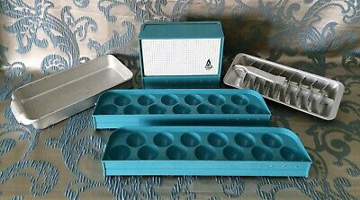 Vintage 1950's Refrigerator Accessories~Compartment~Ice Tray~Egg Shelf ETC.