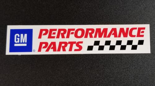GM Performance Parts Original Vintage Racing 6