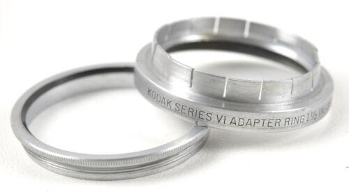 Kodak series VI Filter Holder Adapter ring  1 1/2 IN  38 mm  -  USA