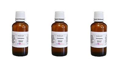 3X Aroma Sauna Eucalipto 50ML / Aceite de / Auguss / Esencias...