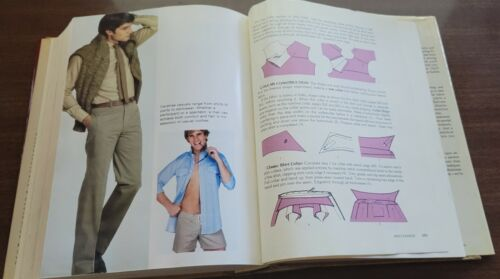 The New VOGUE Sewing Book, Vintage 1980, Patterns, How to, Tailoring, Women, Men