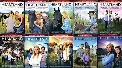 Heartland Seasons 1-10 The Complete Series DVD Season 1 2 3 4 5 6 7 8 9 10 New