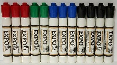 Vintage 1995 Expo Dry Erase Markers Sanford Lot Of 12 - No Box Never Used New