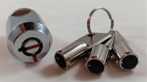 ES-2401 Cylinder Lock With 3 Tubular Keys - Extra Space Storage Units