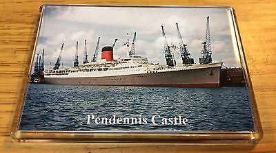 Union Castle Line PENDENNIS CASTLE Photo Fridge Magnet Mail Ship Liner b