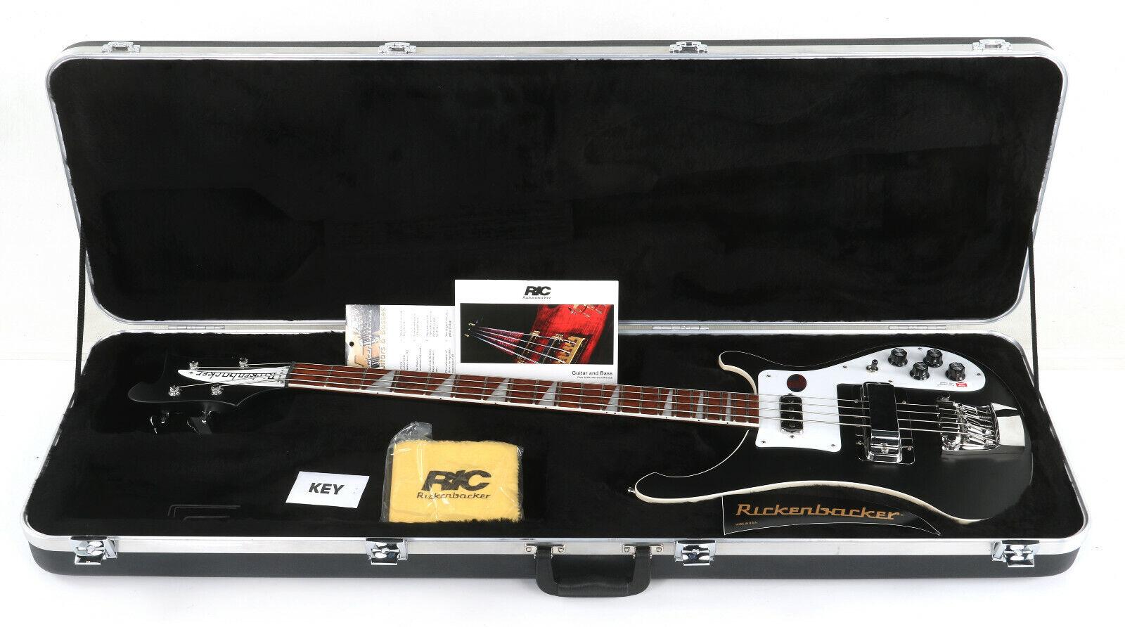 Rickenbacker 4003 Stereo Bass Guitar - Matte Black - $1,711.99