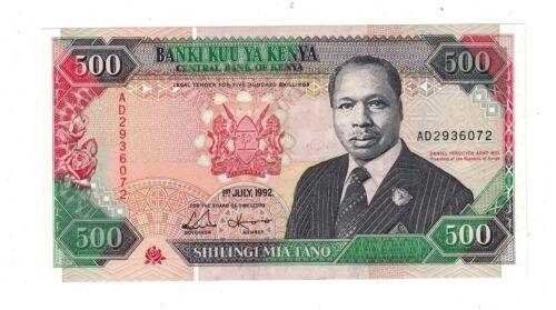 Kenya 500 Shillings P30.e 1992 UNC