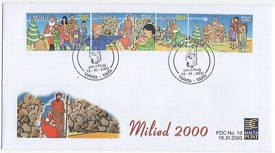 MALTA  2000  Christmas  Unaddressed First Day Cover  Ref:3637