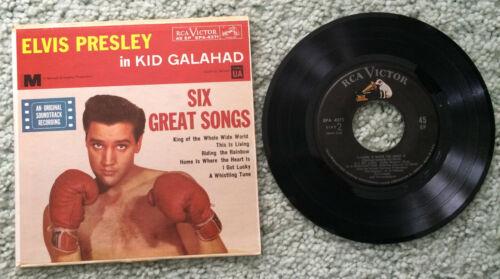 Elvis Presley – Kid Galahad -  EP with 6 songs