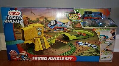 Fisher-Price Thomas and Friends Trackmaster Turbo Jungle Train Set -