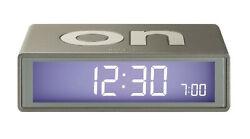 Lexon Flip LCD Alarm Clock Travel Alarm Clock LR130MZ Bronze - Operation by Turn