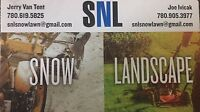 SNL services professional landscaping
