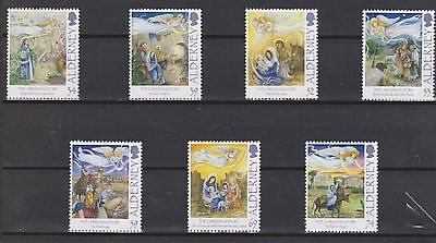 GB - ALDERNEY 2012 Christmas/The Christmas Story SG A474/80 MNH NOEL Weihnachten