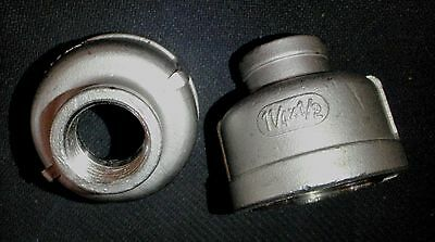 Stainless Steel Reducer Coupling 1 14 X 12 Npt Rc-125-050