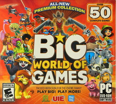 Computer Games - Big World Of Games PC Games Windows 10 8 7 XP Computer Games puzzles sim arcade