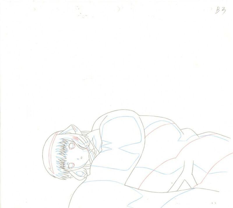 Anime Douga not Cel Chobits #142