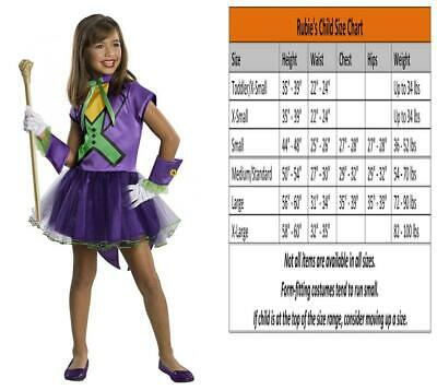 Toddler Joker Costume (DC Super Villain Collection Joker Girl's Costume with Tutu Dress,)