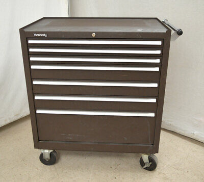 Kennedy 3407xb Rolling 7-drawer Tool Chest Mobile Cabinet 34wx21dx40h Casters