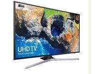 """43"""" SAMSUNG Smart 4K Ultra HD HDR LED TV UE43MU6100 warranty and delivered"""