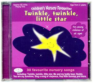 Twinkle Twinkle Little Star CD.  kids nursery songs for children *NEW & WRAPPED*