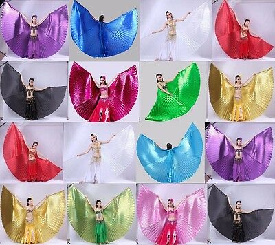 New Open or Close Professional India Egypt Belly Dance Costume Isis Wings - Belly Dance Costume