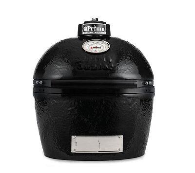 Primo JR200 BBQ Smoker Bake Grill Ceramic Lump Coal Outdoor Cooking  ()