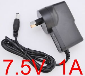 AC-100-240V-Converter-Adapter-DC-7-5V-1A-7-5W-Power-Supply-1000mA-AU-5-5-x-2-1mm