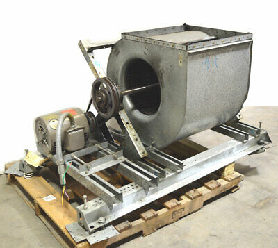 Magnetek 5-hp E219 3-ph Squirrel Cage Blower Exhaust Fan Opening22x22 17dia