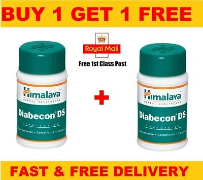 Himalaya Herbal Diabecon DS Helps you Control Type Diabetic | 60 Tablets