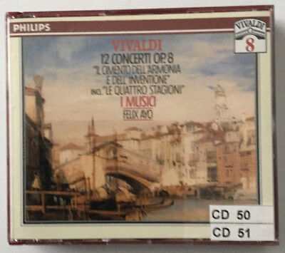 Vivaldi-Edition 8 - 12 Concerti OP.8  I Musici: Felix Ayo