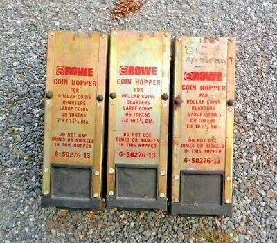 Lot Of 3 Rowe Bill Changer Hi-capacity Coin Hopper 6-50276-13