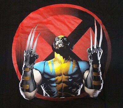 Marvel Comics Wolverine T-Shirt Big Sizes L XL 2XL 3XL 4XL 5XL X-Men Black - Wolverine T Shirt