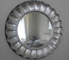 Latge round mirror